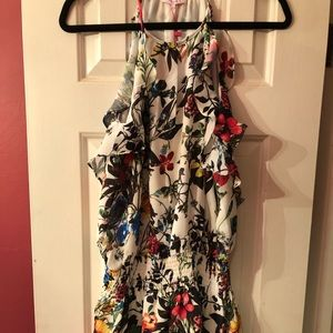 Parker dress in the floral amazon print size L new